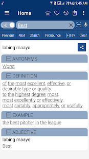 Download English Cebuano Dictionary 8.2.5 Apk for android