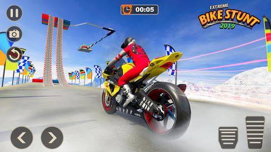 Download Extreme Bike Stunt Games: Mega Ramp Stunts Game 1.3 Apk for android