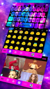 Download Falling Galaxy Droplets Keyboard Theme 1.0 Apk for android