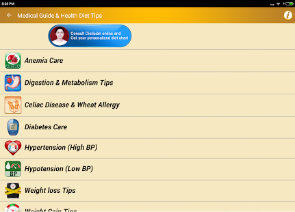 Download Health Diet Foods Fitness Help 2.7 Apk for android
