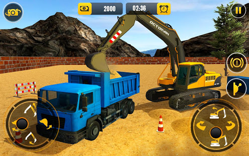 Download Heavy Crane Excavator Construction Simulator 2021 1.0.8 Apk for android