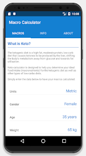 Download Keto Calculator - Low-Carb Macro Calculator 2.2 Apk for android