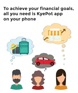 Download KyePot - The simplest way to save & borrow money 3.2.0 Apk for android
