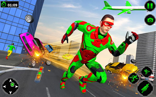 Download Light Robot Superhero Rescue Mission 2 31 Apk for android