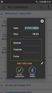 Download My Blood Pressure 3.6.0.0 Apk for android