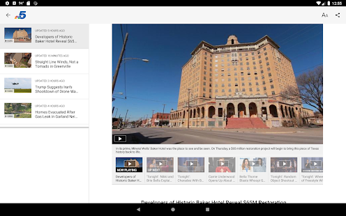 Download NBC 5 Dallas-Fort Worth 6.17 Apk for android