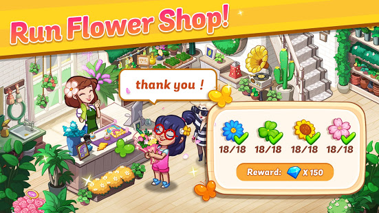 Download Ohana Island - Design Flower Shop & Blast Puzzle 1.1.3 Apk for android