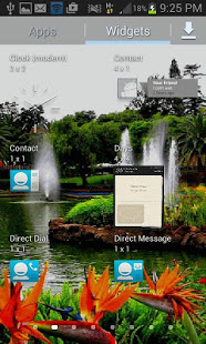 Download Park Fountains LWP 3 Apk for android