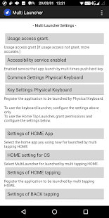 Download Physical keyboard and Home tap Multi Launcher 643k Apk for android