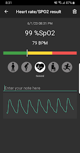 Download Pulse Oximeter - Beat & Oxygen 1.2.1 Apk for android