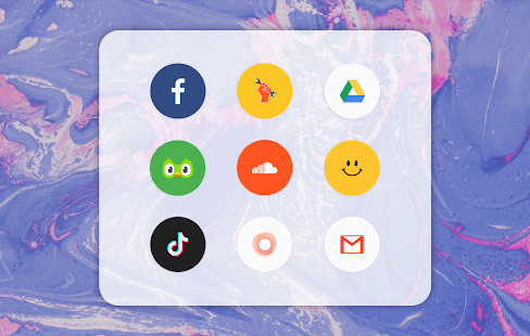 Download Pure Icon Pack: Minimalist & Colorful & Clean 8.3 Apk for android
