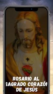 Download Rosario al Sagrado Corazon de Jesus en Audio 1.12 Apk for android