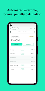 Download Salary Box: Staff Attendance Book & Salary Khata 2.40 Apk for android
