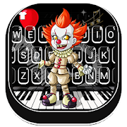Download Scary Piano Clown Keyboard Background 1.0 Apk for android