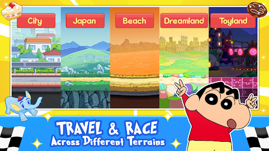Download Shinchan Speed Racing : Free Kids Racing Game 1.19 Apk for android