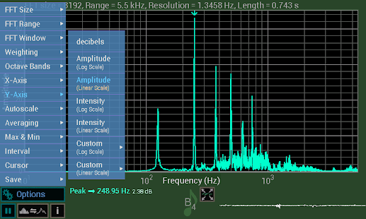 Download Spectrum Analyser Apk for android