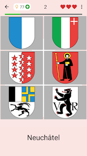 Download Swiss Cantons - Quiz about Switzerland's Geography 3.1.0 Apk for android