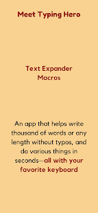 Download Text Expander, Auto-text, Macro ⚡ Typing Hero 0.3.17-238796dc Apk for android