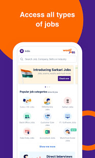 Download Waahjobs - Job Search in India 3.4.88 Apk for android