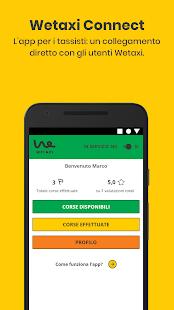 Download Wetaxi Connect: con i tassisti, per i tassisti 2.10.6 Apk for android