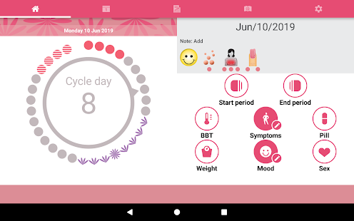 Download WomanLog Period Tracker & Calendar 5.8.43 Apk for android