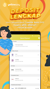 Download yellowpay Agen Pulsa, Topup Game, & Kuota Termurah 5.0 and up Apk for android