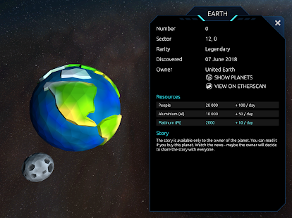 Download 0xUniverse: Conquer the blockchain-based galaxy! 3.6.3 Apk for android