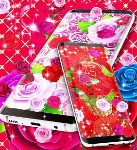 Download 2021 Roses live wallpaper 18.6 Apk for android