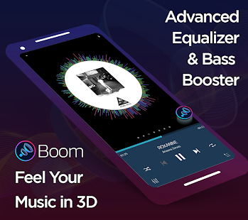 Download Boom: Music Player, Bass Booster and Equalizer 2.5.3 Apk for android