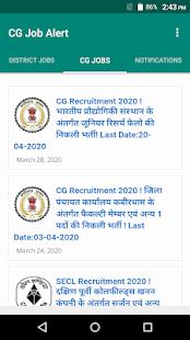 Download CG Job Alert - Chhattisgarh Rojgar Samachar app 2.0.9 Apk for android