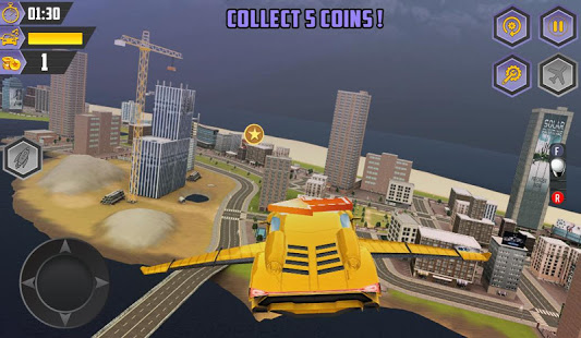 Download Flying Racing Car Games 1.7 Apk for android