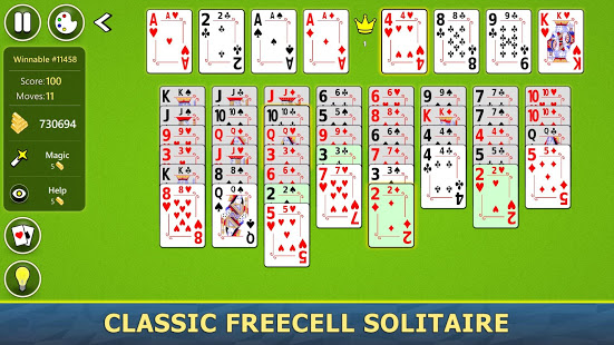 Download FreeCell Solitaire Mobile 2.0.4 Apk for android
