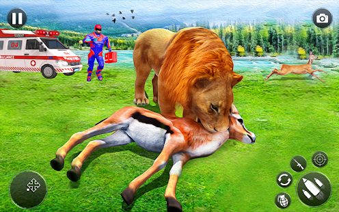 Download Light Superhero Robot Animal Rescue Mission Apk for android