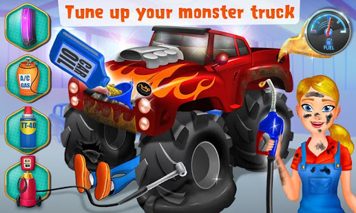 Download Mechanic Mike - Monster Truck 1.1.1 Apk for android