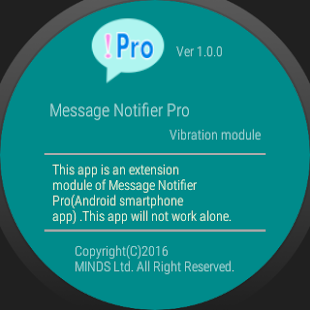 Download Message Notifier Pro sound/vibe/LED/flash/remove Apk for android