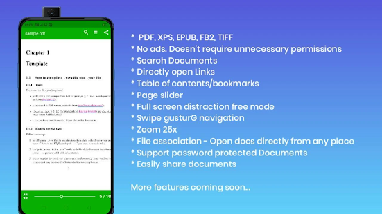 Download PDF viewer lite 3.8 Apk for android