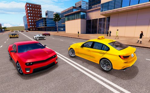 Download Real Taxi Driving Simulator 2021: Grand City Taxi 3.2 Apk for android