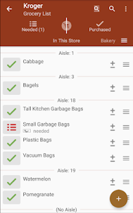 Download rShopping List for Groceries 2.4.75 Apk for android