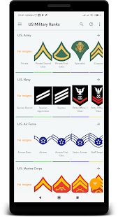 Download US military ranks 3.8 Apk for android