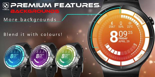 Download Venom Watch Face & Clock Widget Apk for android