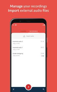 Download Voice Recorder with Photos and Notes by Canomapp 2.1.4 Apk for android