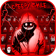 Download Creepy Red Smile Keyboard Theme 4.0.B Apk for android