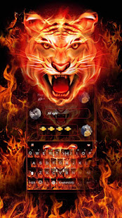 Download Cruel Tiger 3D Keyboard Theme 4.0 Apk for android