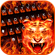 Cruel Tiger 3D Keyboard Theme 4.0 Apk for android