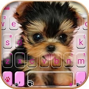 Download Cute Tongue Cup Puppy Keyboard Theme 1.0 Apk for android