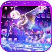 Dreamy Wing Unicorn Keyboard Theme 1.0 Apk for android