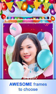 Download Happy Birthday Photo Frames & Background, Text 1.07 Apk for android