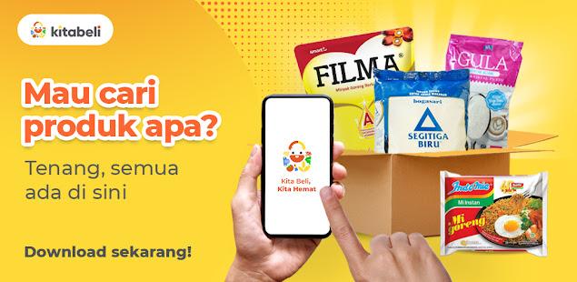 Download KitaBeli - Belanja Kebutuhan & Produk Segar Online 14.2.1 Apk for android
