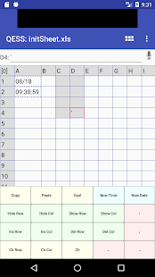 Download QESS free - Quick Entry Spread Sheet 2.10.6 Apk for android