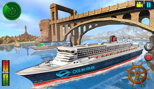 Download Real Cruise Ship Driving Simulator 2020 1.12 Apk for android